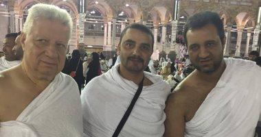 صور.. مجلس الزمالك يؤدى مناسك العمرة بعد قرعة كأس العرب