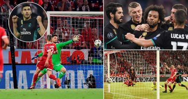 10 أرقام تاريخية لن تنسى من مباراة ريال مدريد وبايرن ميونخ اليوم السابع