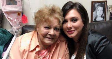 سولاف فواخرجى لنادية لطفى بعد زيارتها فى المستشفى: جميلة الجميلات كانت وستبقى