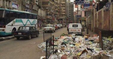 """شكوى من انتشار القمامة ومياه المجارى بـ""""أم المصريين"""" بالجيزة"""