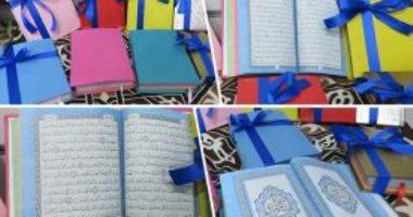 """فيديو.. انتشار """"المصاحف الملونة"""" وبائع: يزداد الإقبال عليها فى رمضان خاصة من الفتيات"""