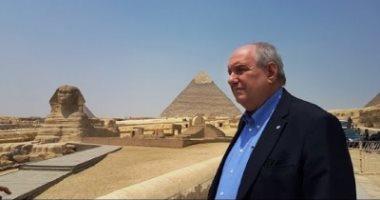 نائب وزير خارجية اليونان: أعشق مصر وأشعر بالأمان فيها أكثر من أى بلد بالعالم