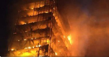 إصابة عاملين فى حريق اندلع بمصنع ملابس جاهزة بمدينة كفر الدوار