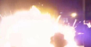 النيابة تنتدب المعمل الجنائى لفحص حريق شقة بسبب انفجار ماسورة غاز بحلوان