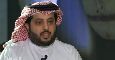 مرتضى منصور يجرى اتصالا هاتفيا للاطمئنان على صحة تركى آل الشيخ