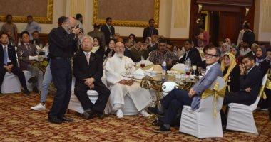 رئيس المجلس العربى الأفريقى: نشكر السيسى لاستضافة المؤتمر وشعارنا دع عملك يتكلم