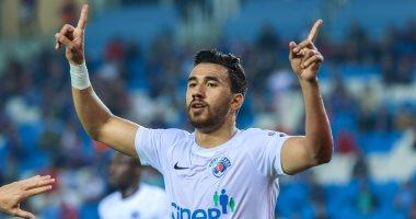 تريزيجيه المتألق أفضل لاعب فى مباراة قاسم باشا وطرابزون بالدورى التركى