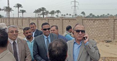 وزير التنمية المحلية يقرر صرف 50 ألف جنيه للعاملين بالمدفن الصحى بالسادات