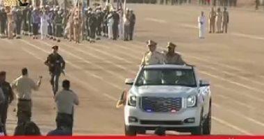 حفتر يشهد تخريج الدفعة 51 من الجيش الليبى فى الذكرى الرابعة لاحتفالات الكرامة