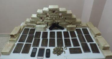 ضبط عاطلين بحوزتهما كمية من المخدرات فى حملة أمنية بشبرا الخيمة