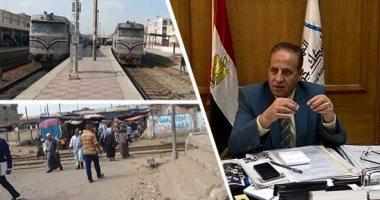 """""""السكة الحديد"""" تعدل مواعيد بعض قطارات بحرى ابتداء من اليوم حتى نهاية رمضان"""