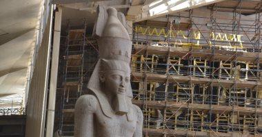 معاينة النيابة الإدارية لحريق المتحف الكبير: النيران لم تصل إلى أى تمثال