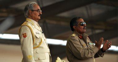 ننشر صور حضور خليفة حفتر احتفالات تخرج الدفعة 51 من الجيش الليبى