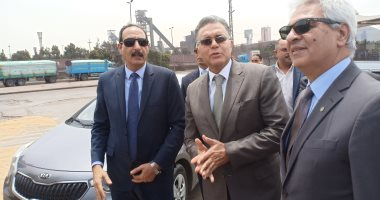 وزير النقل ومحافظ جنوب سيناء يستقبلان الحجاج ويفتتحان تطوير منفذ طابا اليوم