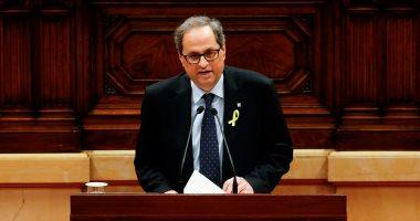 رئيس كتالونيا الجديد يتسلم مهام منصبه رافضا القسم بالولاء للدستور الإسبانى