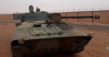 قوات الجيش الليبى تصد هجوما إرهابيا على قاعدة عسكرية جنوب البلاد