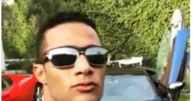 فيديو.. محمد رمضان يستعرض سياراته الفارهة: ربنا يعطى جمهورى أحسن منهم