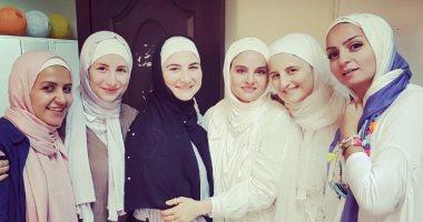 صور.. شيماء سعيد بالحجاب قبل رمضان