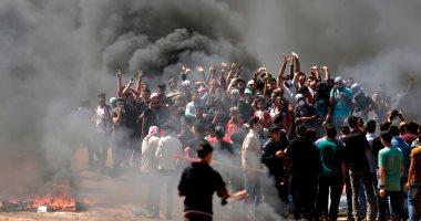 ارتفاع عدد الإصابات برصاص الاحتلال الإسرائيلى فى غزة لـ 110 أشخاص
