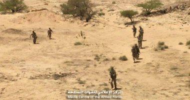 مصرع 40 حوثيا بنيران الجيش اليمنى مدعوما بالتحالف فى جبهة البيضاء -