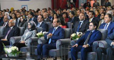 """الرئيس السيسي للمصريين: """"أنا فى ضهرى ربنا.. وعايزكم انتوا فى ضهر مصر"""""""