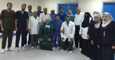 """صور.. إجراء أول عملية جراحية بمركز الكبد بكفر الشيخ استجابة لـ""""اليوم السابع"""""""