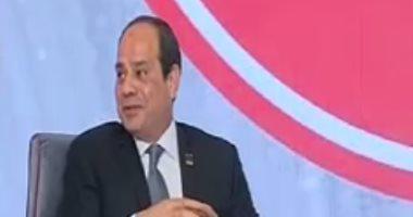 السيسى: حضور المصريين فى انتخابات الرئاسة بكثافة رسالة قوية للداخل والخارج