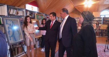 """صور.. انطلاق فعاليات أسبوع أدب الطفل المصرى بأذربيجان وعرض قصة """"بكار"""""""