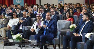 رسائل السيسى بمؤتمر الشباب.. أهمها تذكرة المترو وتحديات البطالة والنمو السكانى