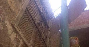 شكوى من تهالك عمود كهرباء بقرية الرملة فى محافظة القليوبية