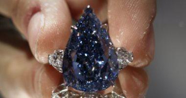 بيع ألماسة زرقاء تناقلتها عائلات مالكة أوربية بسعر 6.7 مليون دولار