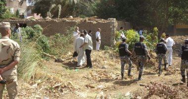 إزالة 50 حالة تعدى على أملاك الدولة ونهر النيل خلال حملة على مراكز قنا