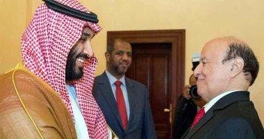 ولى العهد السعودى يهنئ رئيس اليمن بمناسبة شهر رمضان