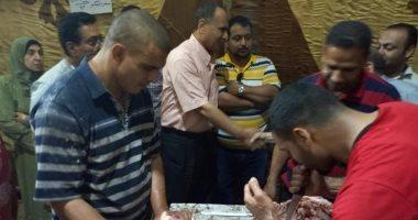 مساعد محافظ كفر الشيخ يتفقد معرض أهلاً رمضان.. واللحوم بـ85 جنيهًا