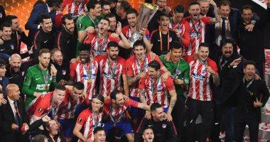 ريال مدريد يهنئ أتلتيكو بعد تتويجه بلقب الدوري الأوروبي