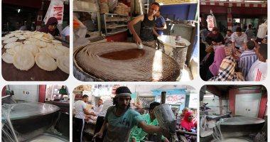إقبال المصريين على الكنافة والقطايف يتزايد فى ثانى أيام شهر رمضان الفضيل