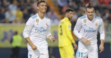 فيديو.. ريال مدريد يتقدم على فياريال بثنائية بيل ورونالدو فى الشوط الأول