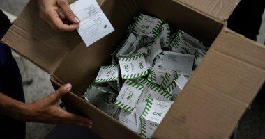 صور بدء فرز أصوات الاقتراع فى الانتخابات الرئاسية بفنزويلا