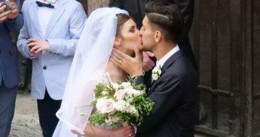 صور توتى أبرز الحاضرين فى زفاف نجم روما الشاب