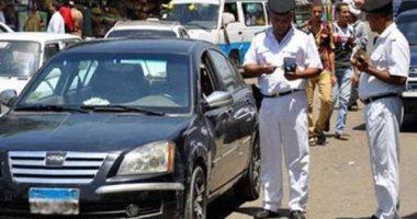 ضبط 23 سائقًا يتعاطى المواد المخدرة أثناء القيادة بالطرق السريعة