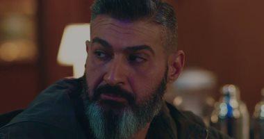 """ياسر جلال فى استوديو مكة لتصوير """"لمس أكتاف"""""""