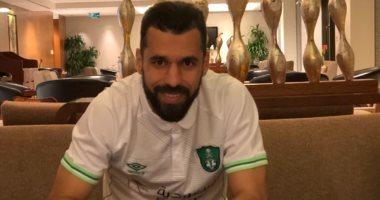 عبد الله السعيد يجرى تدريبات تأهيلية مع الأهلي السعودي اليوم