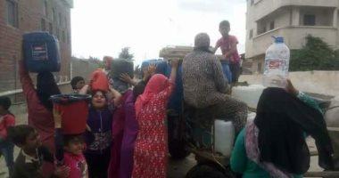 قارئ يشكو انقطاع المياه عن شارع محمد الأعصر بمنطقة ترسا فى الجيزة