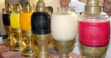ضبط برميل عصير تمر هندى غير مدون عليها بيانات الصلاحية بالغردقة