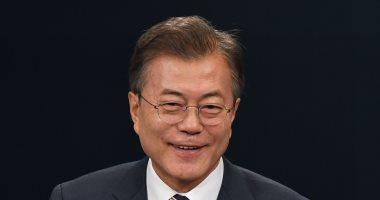 صور.. رئيس كوريا الجنوبية: كيم أكد التزامه بلقاء ترامب لإنهاء تاريخا من المواجهة