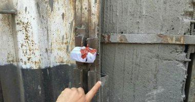 صور.. غلق وتشميع مصنع حديد تسليح مخالف للاشتراطات الفنية بالخانكة