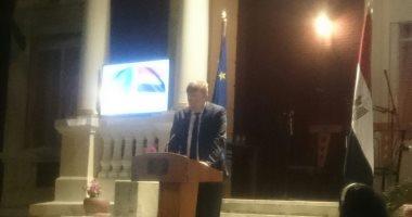 سفير الاتحاد الأوروبى بالقاهرة يتمنى الشفاء لصلاح والتوفيق للفراعنة بالمونديال