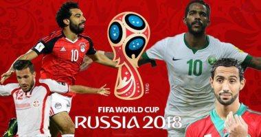 ماسبيرو ينشر مواعيد بث عدد من مباريات كأس العالم على التليفزيون المصرى