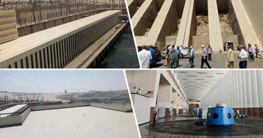 الرى: رفع خطوط المياه العكرة بجسم السد العالى بتكلفة 119 مليون جنيه