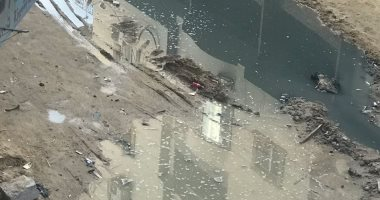 استمرار معاناة أهالى شارع سليم الزقلة بعزبة النخل من انتشار مياه الصرف